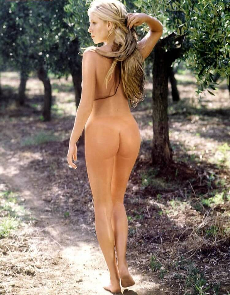 Skinny naked girls bums